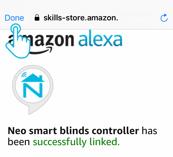 Smart Controller Integration Amazon Alexa authorize