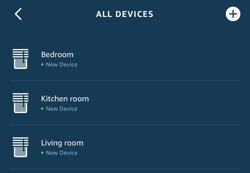 Smart Controller rooms in the Alexa app