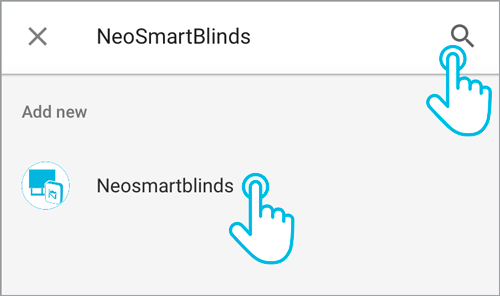 Neo Smart Blinds Integration Google Assistant